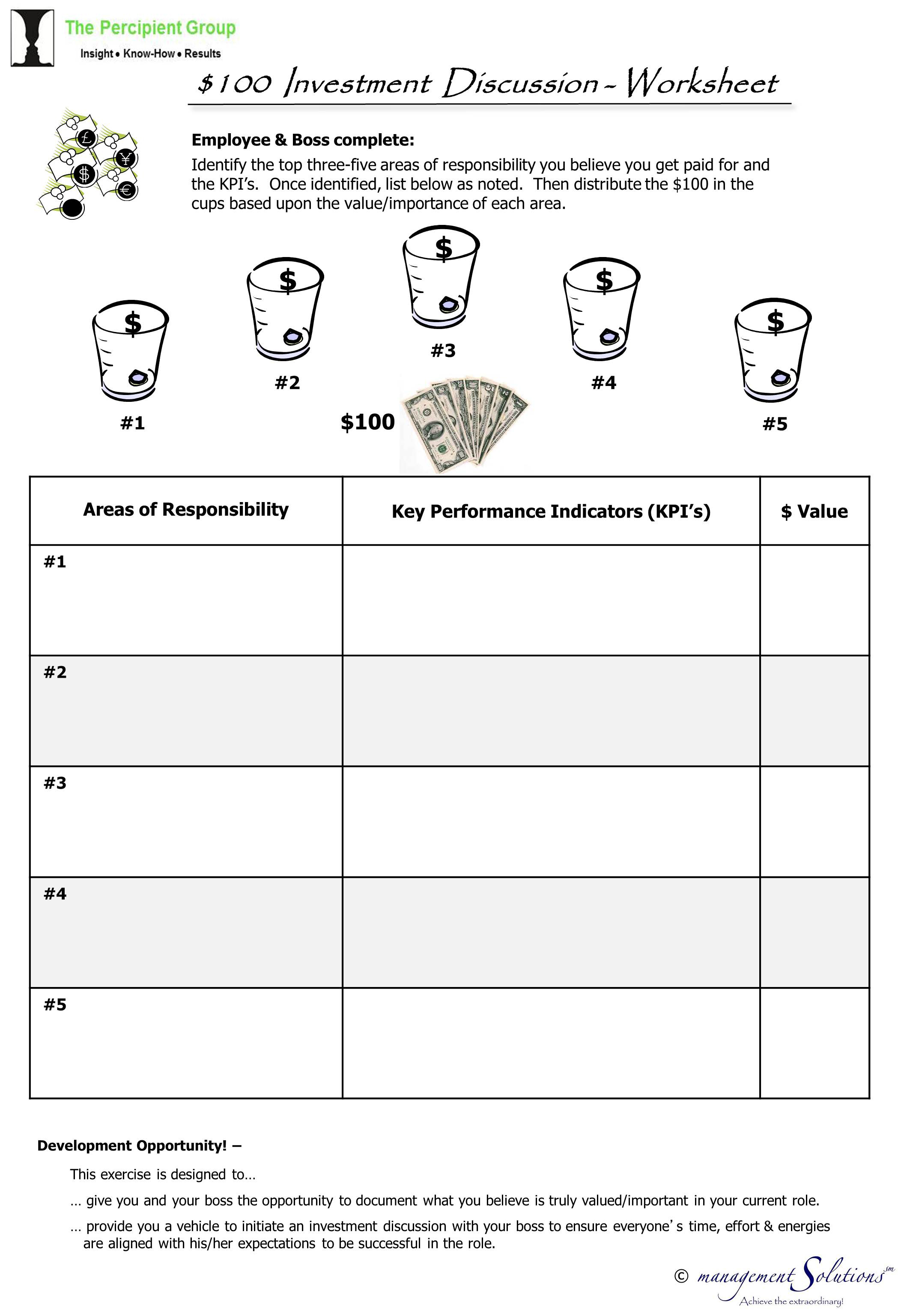 Worksheets Investment Worksheet collection of investment worksheet sharebrowse 100 discussion the percipient group